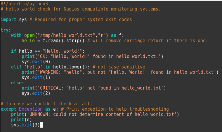 About Nagios Plugins and How to Write Them